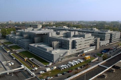 le nouvel h244pital civil le plus gros chantier